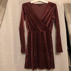 Express Velvet size Small Dress